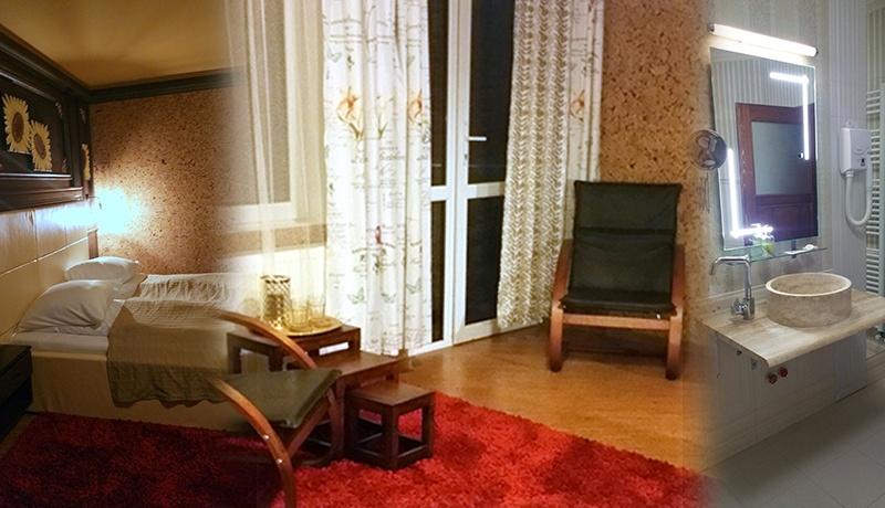 Camera dubla confort cu jacuzzi