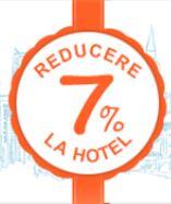 Reducere de 7% pentru rezervările directe pe site-ul hotelului!